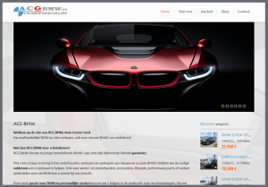 website acg bmw