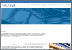 ontwerp website as&s