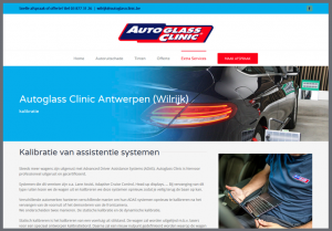 website autoglass clinic antwerpen