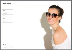 bart poels fotografie website ontwerp
