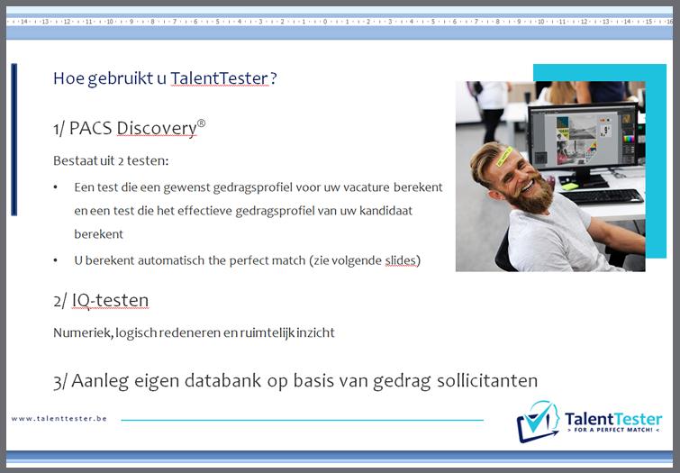 talent tester