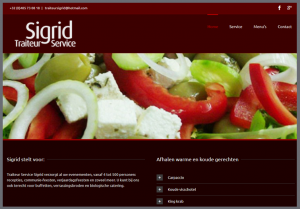 ontwerp website traiteur sigrid